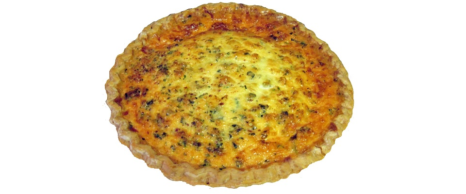 how to make easy homemade quiche