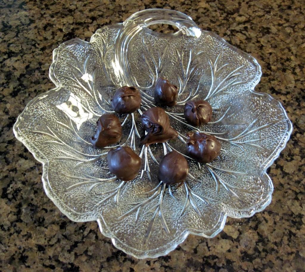 Homemade Chocolate Covered Cherries