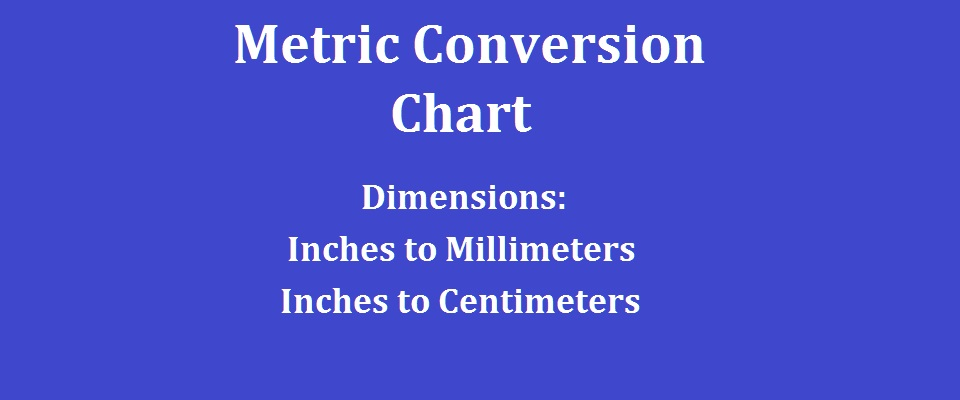 Inches To Cm Chart Ibovnathandedecker