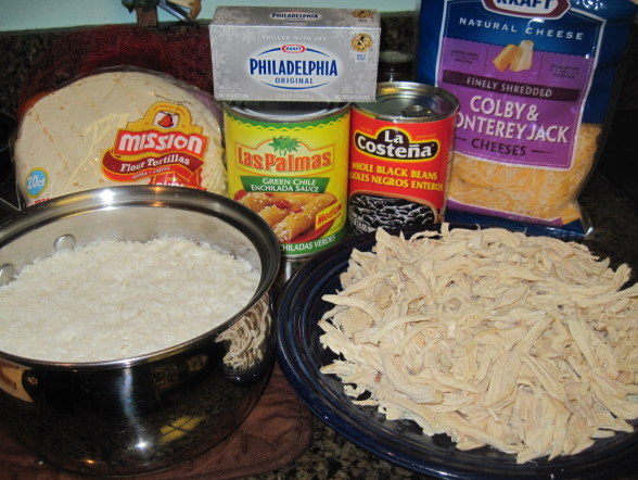 Chicken Enchiladas Ingredients
