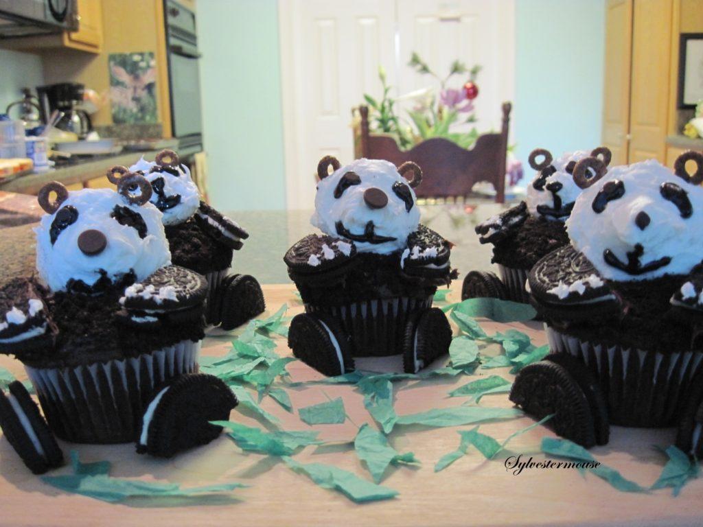 Panda Cupcake Tutorial