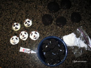 Panda Cupcakes Tutorial
