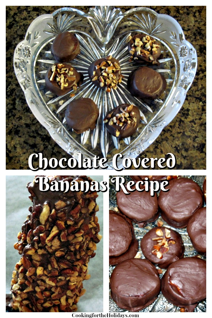 How to Make Chocolate Covered Bananas - Easy!