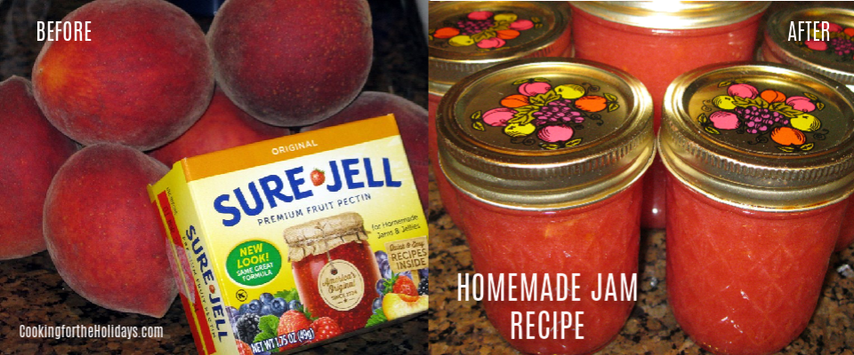Homemade Jam or Jelly Recipe Using Sure Jell Fruit Pectin