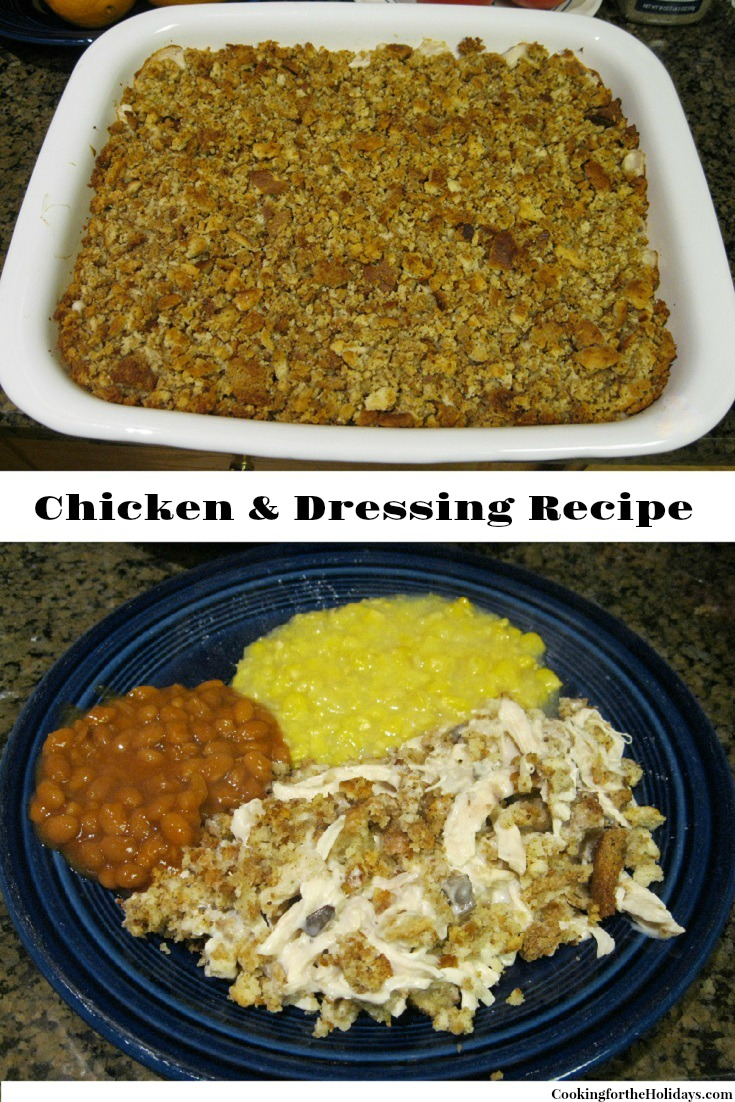 Chicken & Dressing Recipe